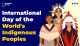 International Day of World's Indigenous Peoples
