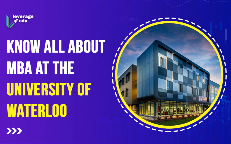 Study MBA at the University of Waterloo