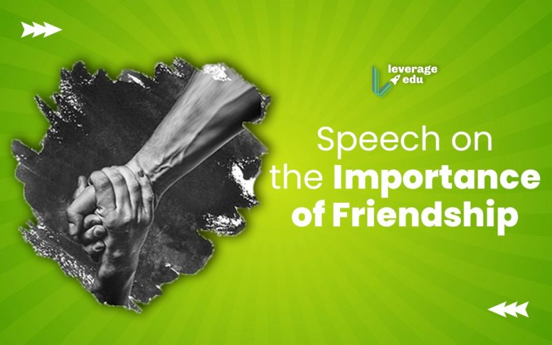 Importance of Friendship Speech