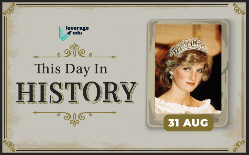 This Day in History- August 31