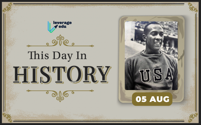 This Day in History- August 5-01