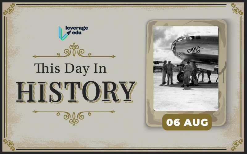 This Day in History- August 6-01