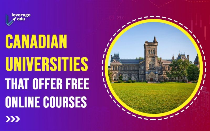 Canadian Universities Offering Free Online Courses