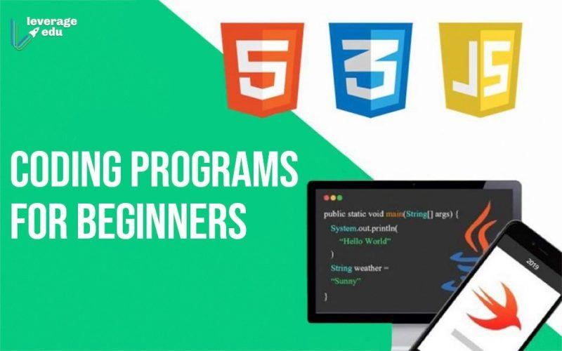 Coding Programs for Beginners