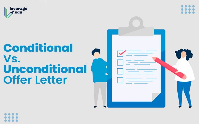 Conditional vs. Unconditional Offer Letter