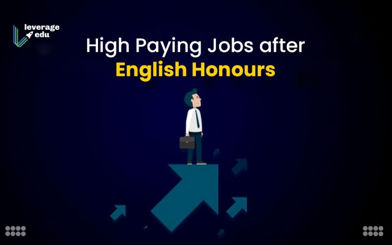 High Paying Jobs after English Honours