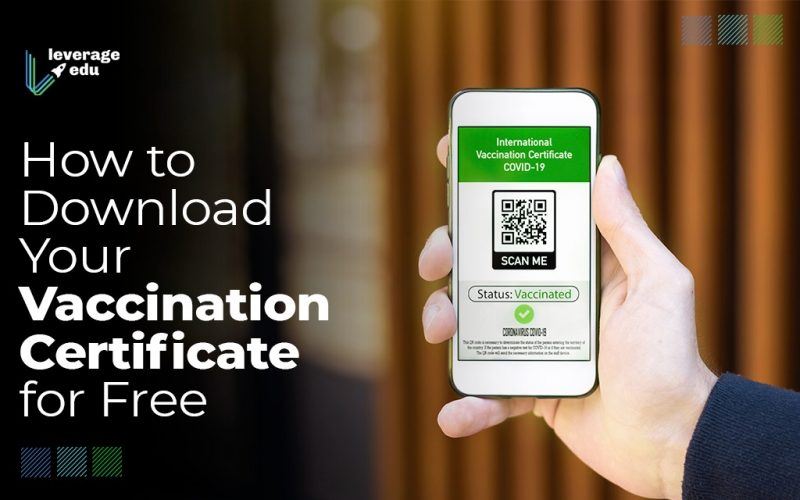 How to Download Your Vaccination Certificate for Free