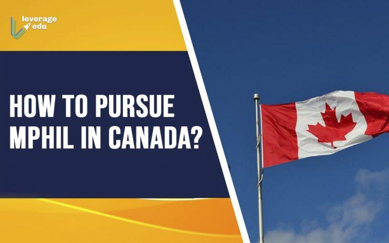 How to pursue mphill in canada