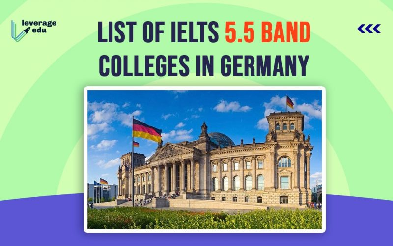 List of IELTS 5.5 Band Colleges in Germany