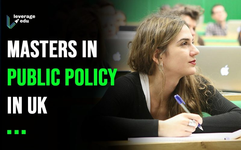 Masters in Public Policy in UK