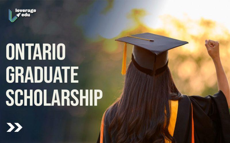 Ontario Graduate Scholarship (1)