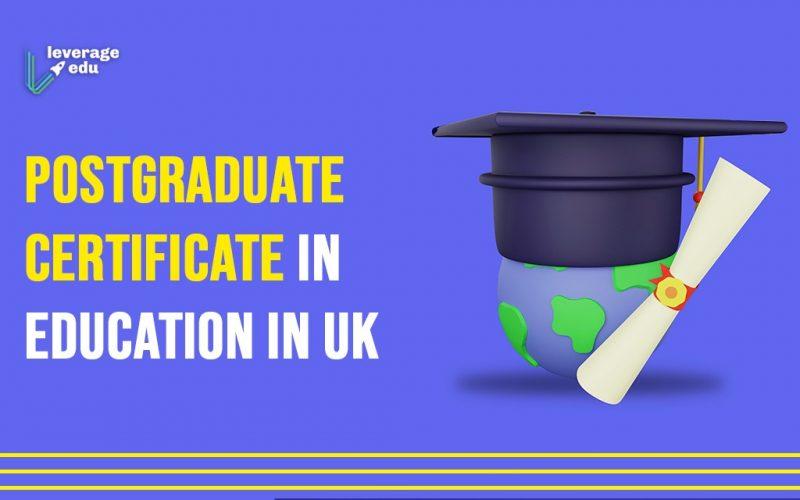 Postgraduate Certificate in Education in UK