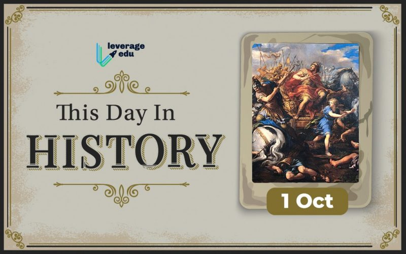 This Day in History- October 1