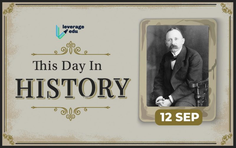 This Day in History- September 12
