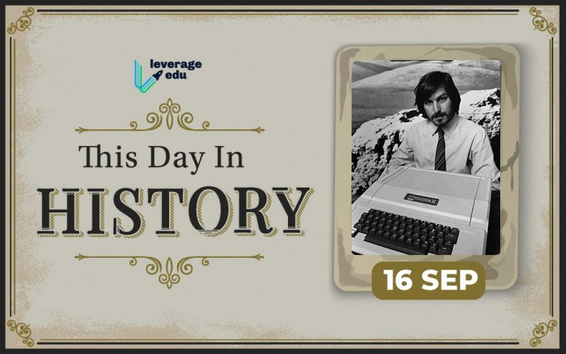 This Day in History- September 16