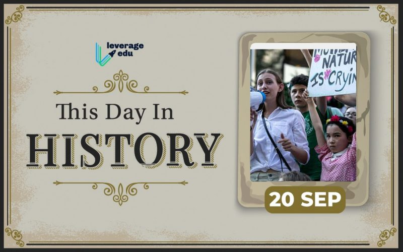 This Day in History - September 20