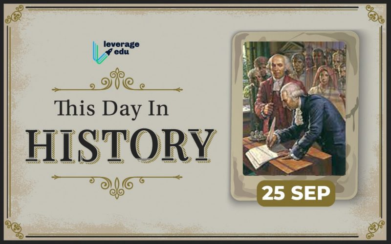 This Day in History – September 25