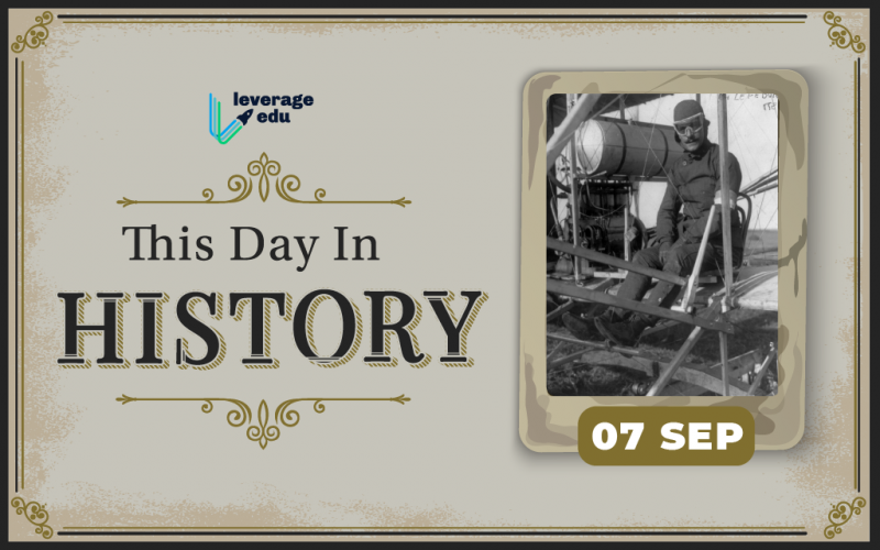 This Day in History- September 7-01