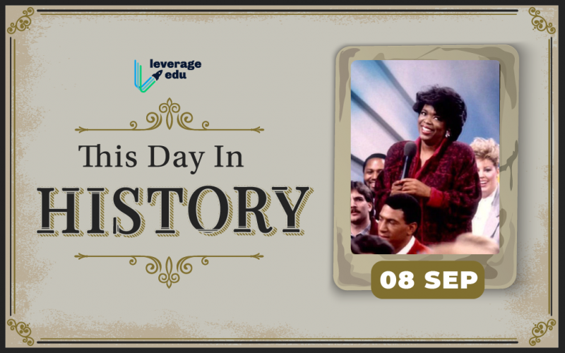 This Day in History- September 8-01