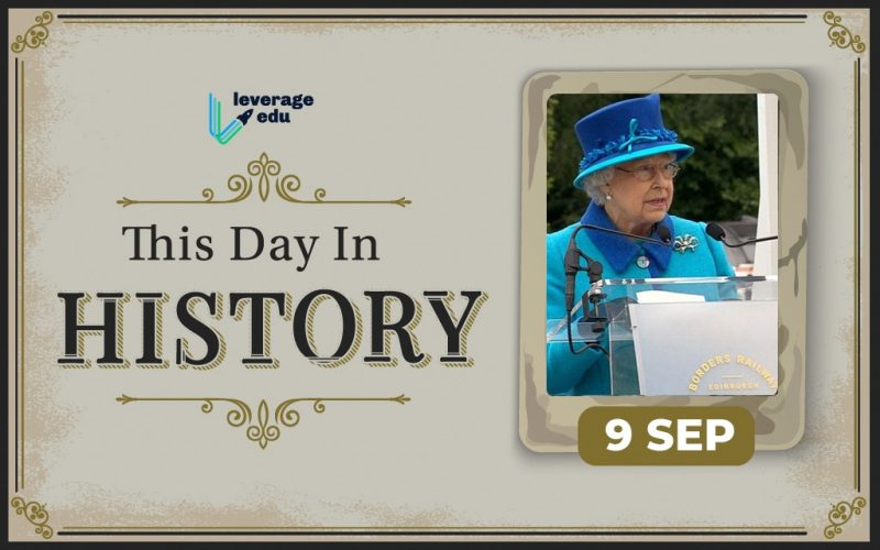 This Day in History- September 9