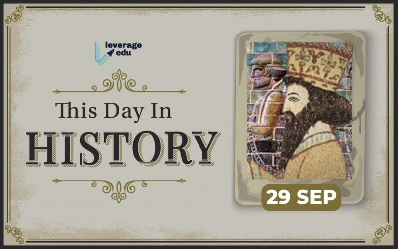 This Day in History – September 29