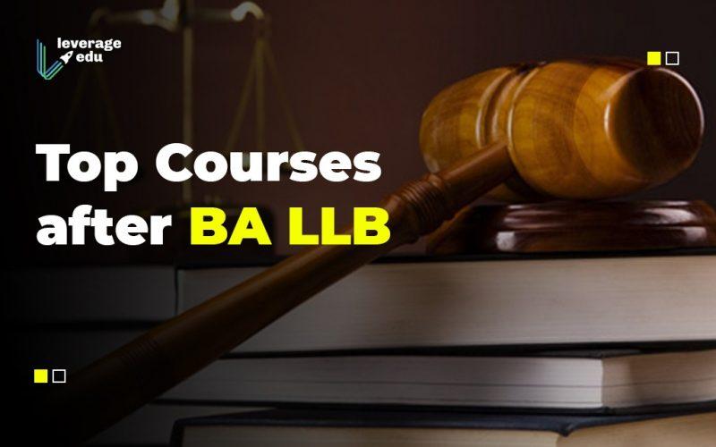 Top Courses after BA LLB