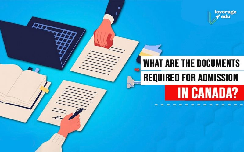 Documents Required for Admission in Canada