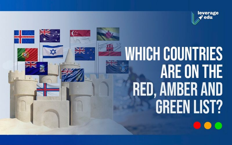 which countries are on the red, amber and green list