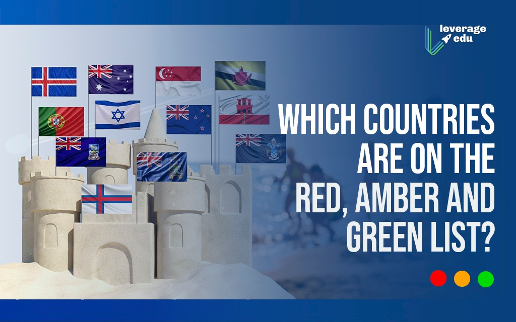 Which Countries are on the Red, Amber, and Green List?