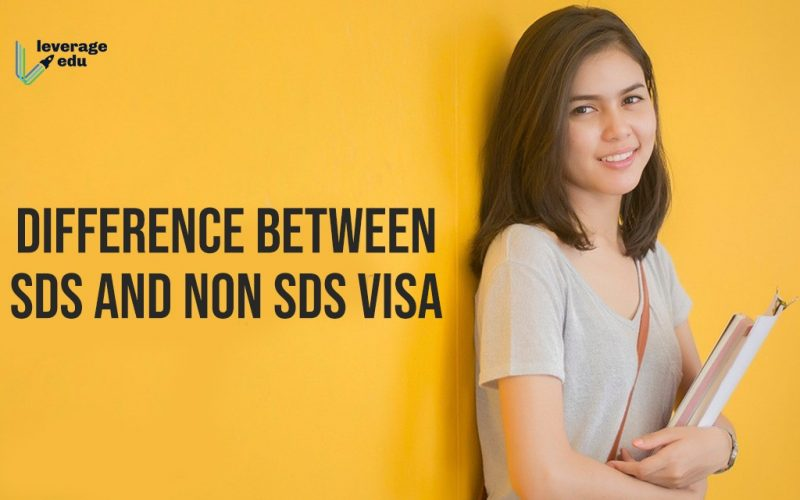 Difference between SDS and Non SDS Visa