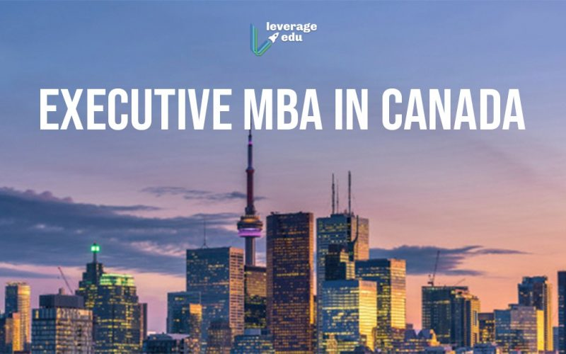 Executive MBA in Canada