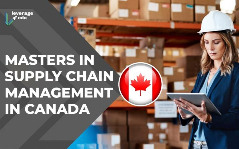 Masters in Supply Chain Management in Canada