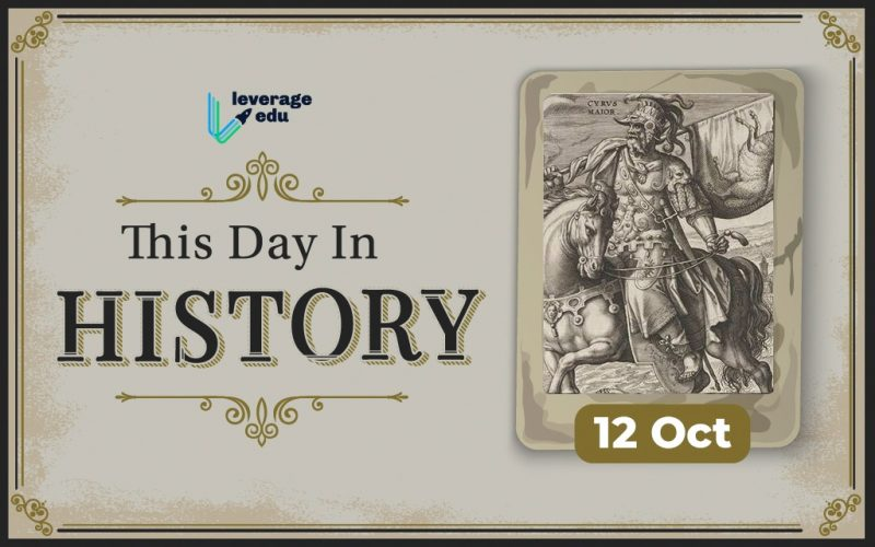 This Day in History- October 12