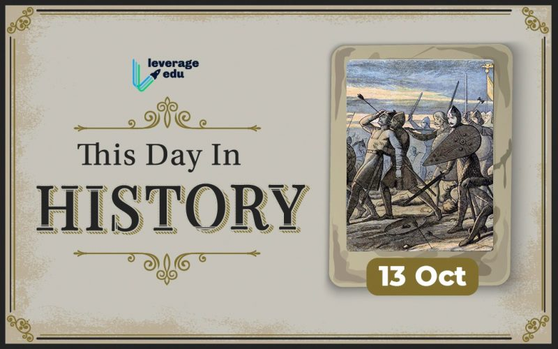 This Day in History- October 13