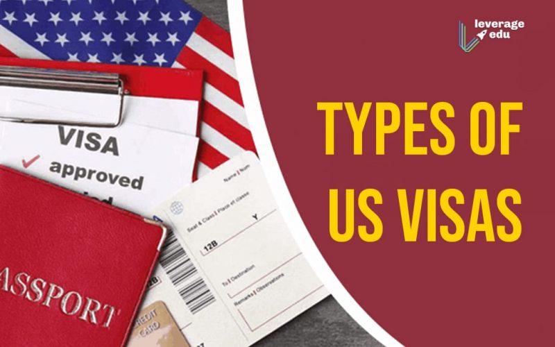Types of US Visas