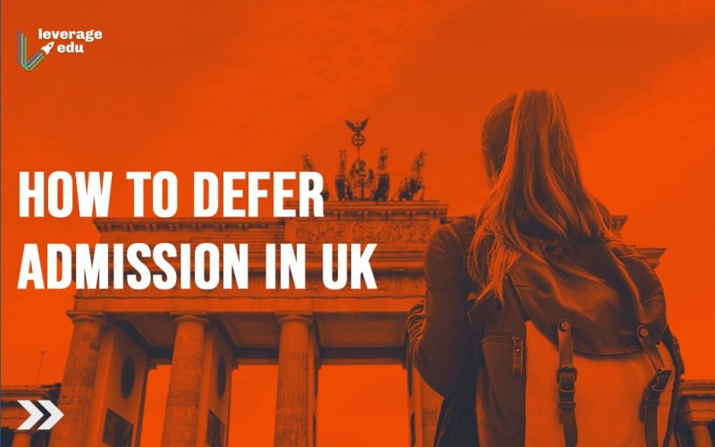 How to defer admission in UK