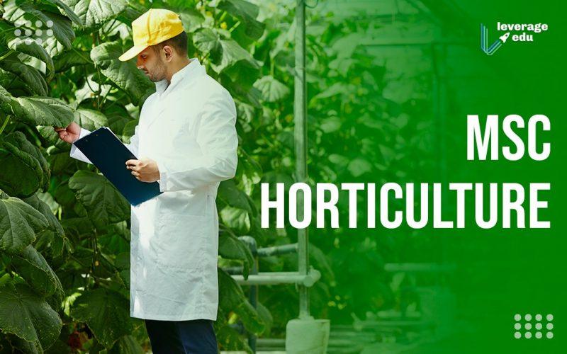 MSc Horticulture
