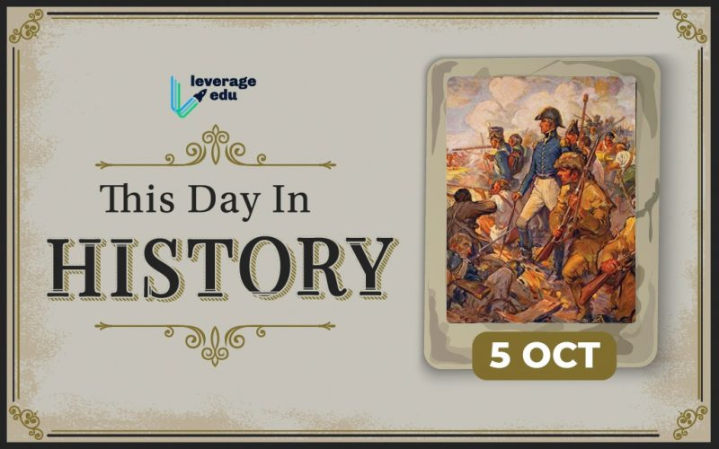 This Day in History – October 5