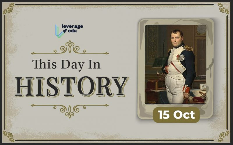 This Day in History- October 15